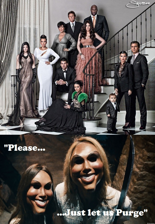 Who will you purge? - meme