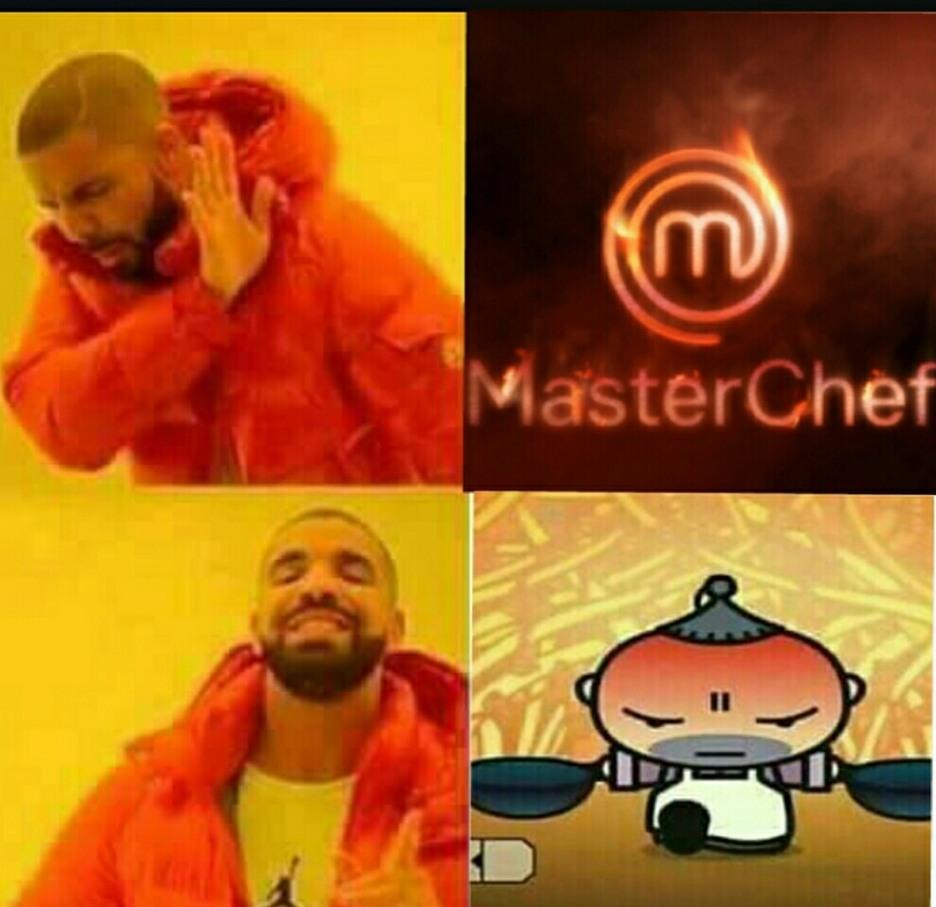 Master chef. - meme