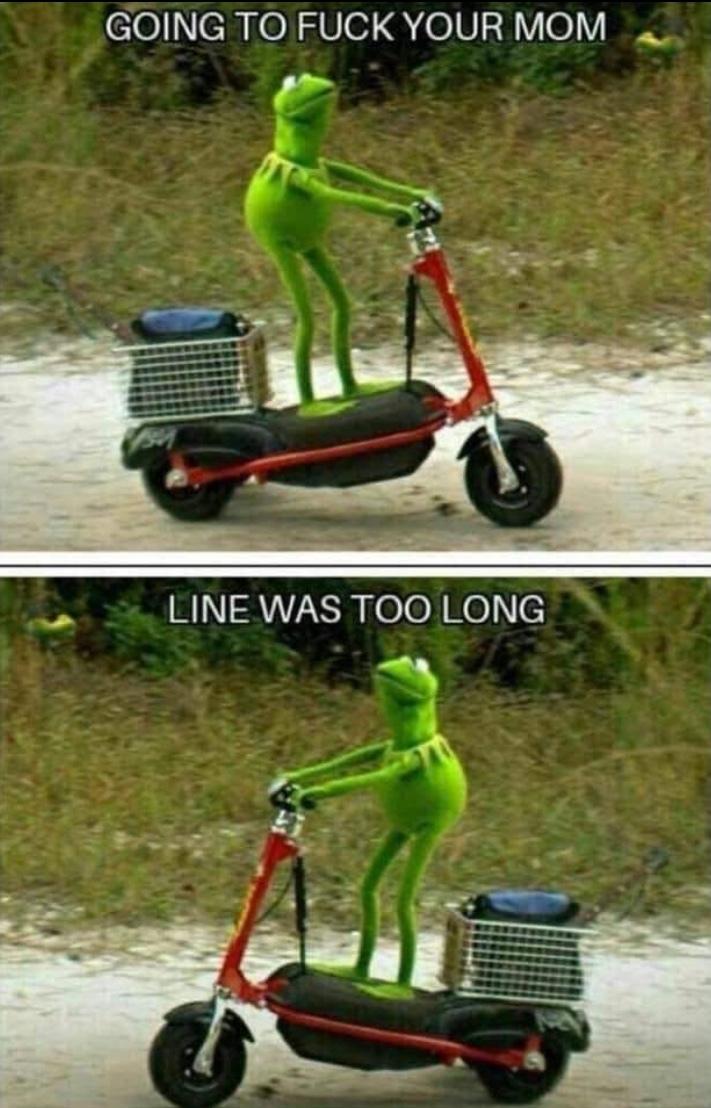 rip Kermit - meme
