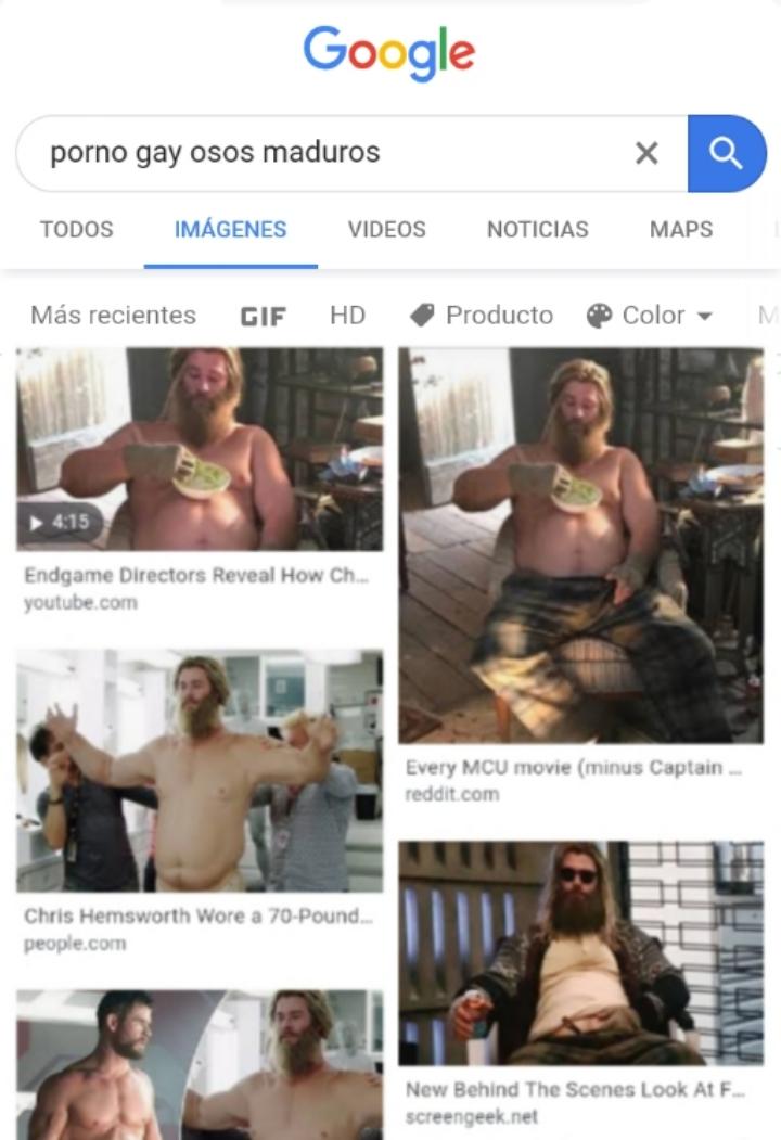 No homo, dios del thunder - meme