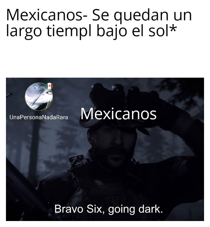 Soy mexicano - meme