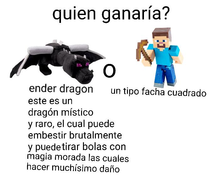 Quiero un peluche de ender dragón :O - meme