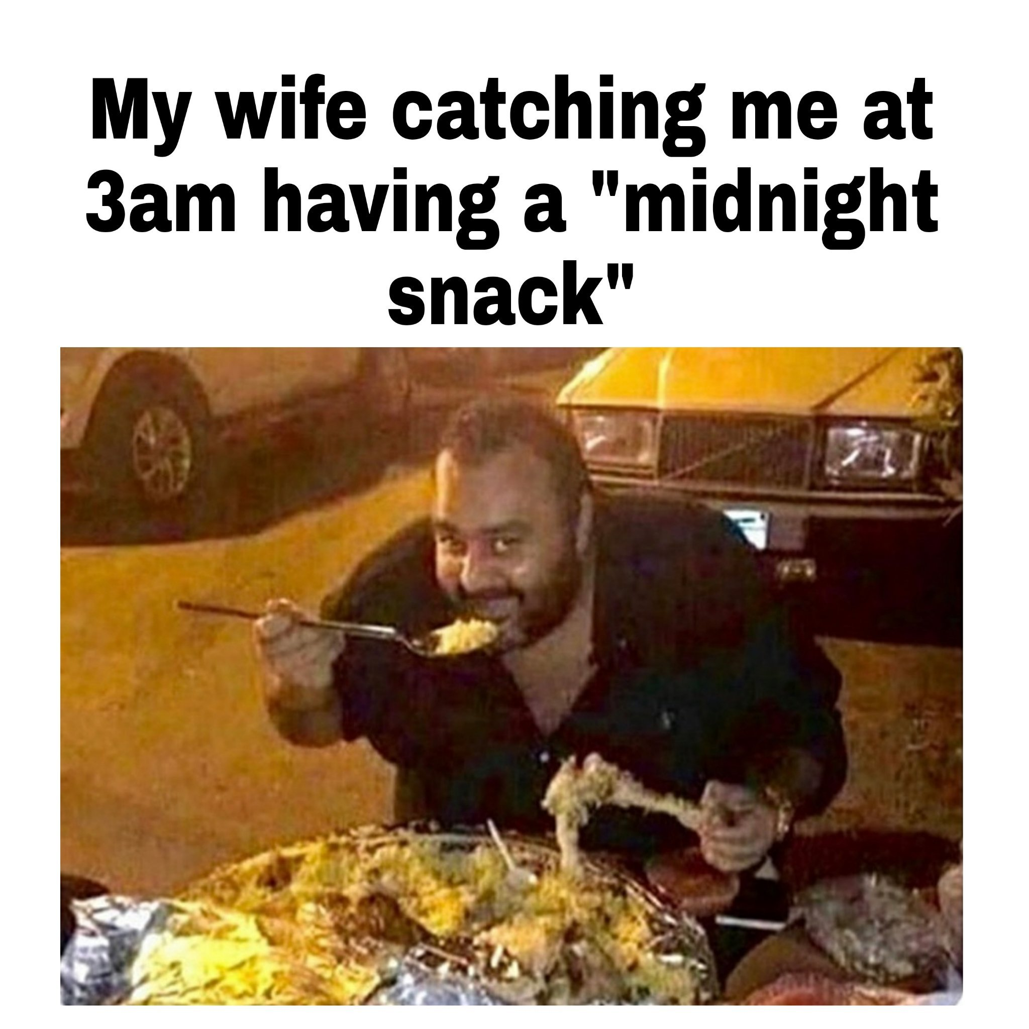 Just a light snack before bed.. - meme