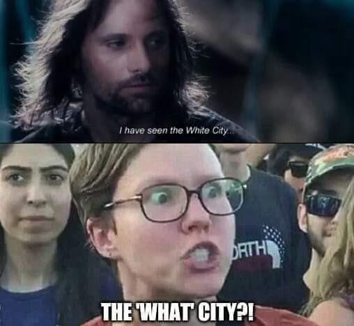 Minas Tirith - meme