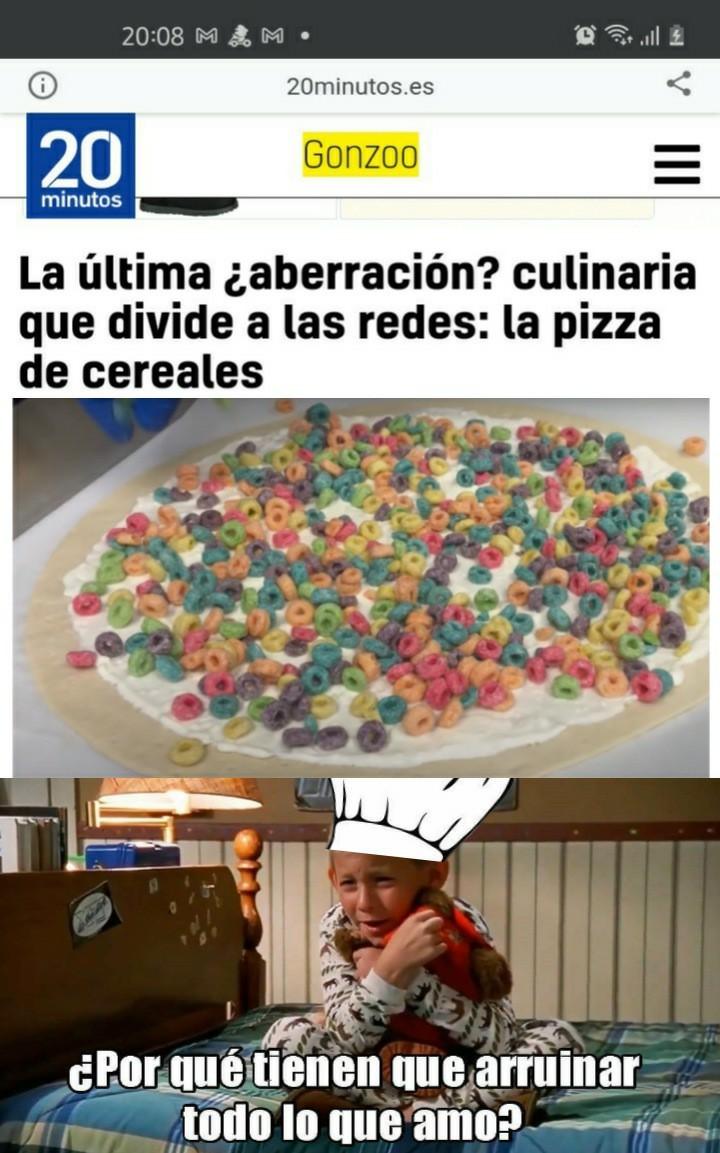 Si la masa es salada entonces no - meme