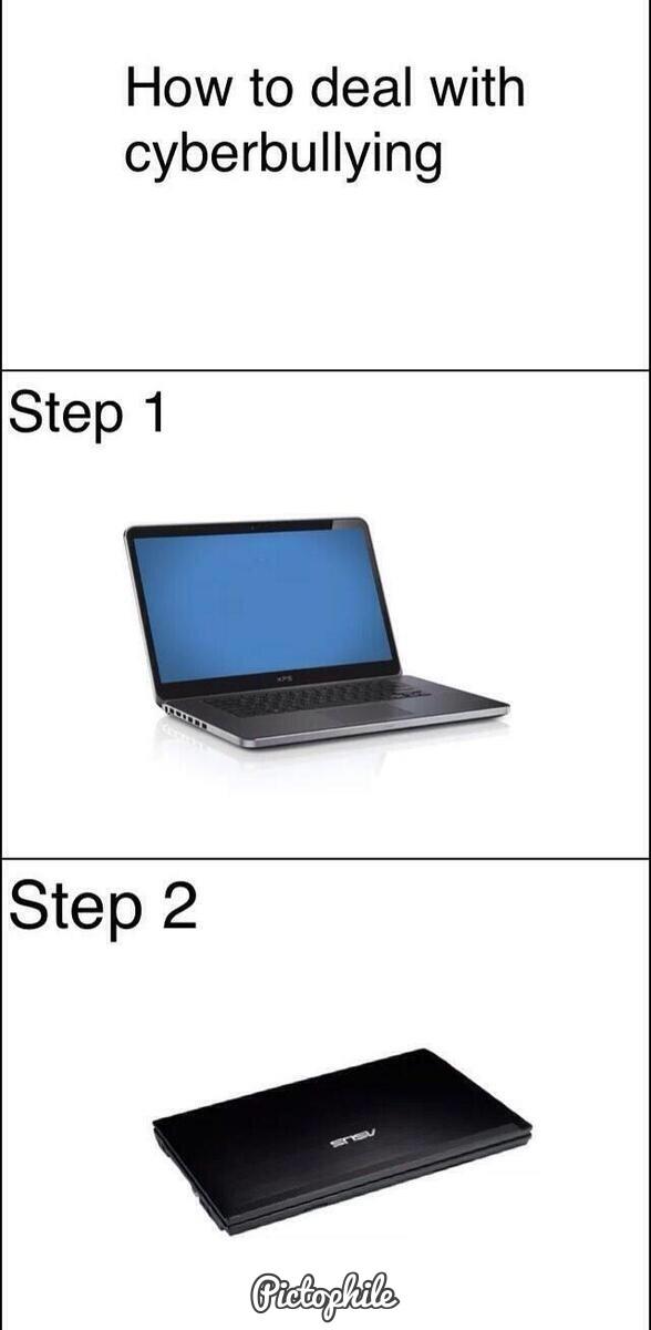 cyberbulling - meme
