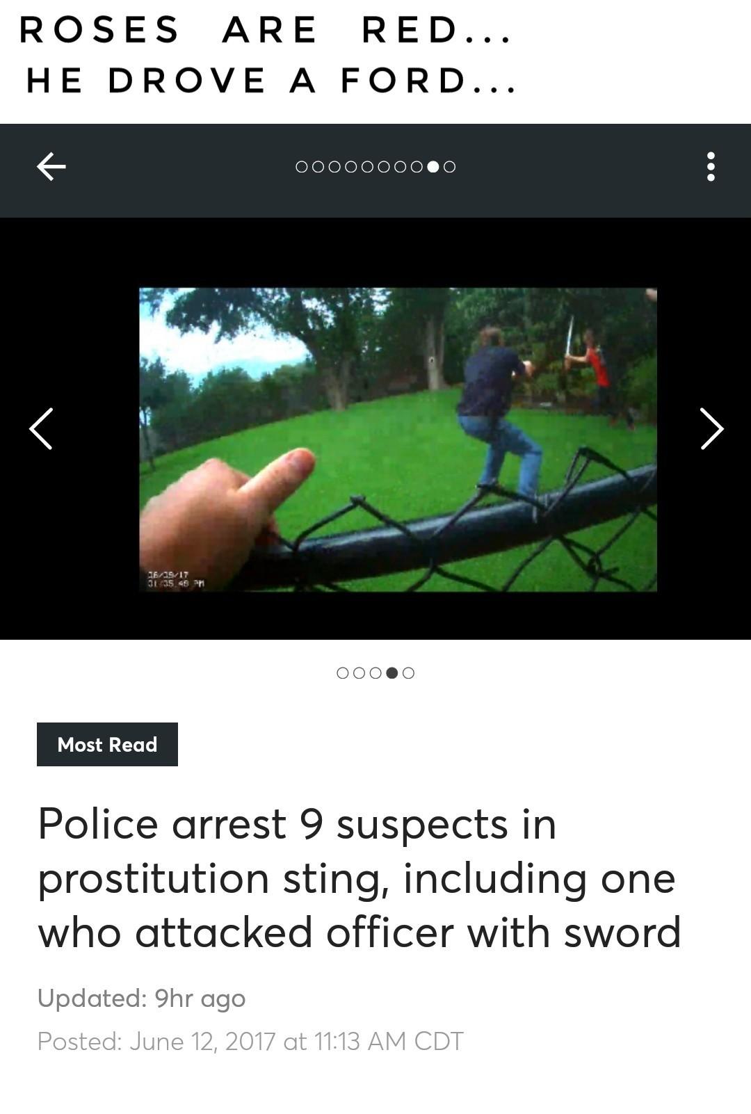 The cop is fine... - meme