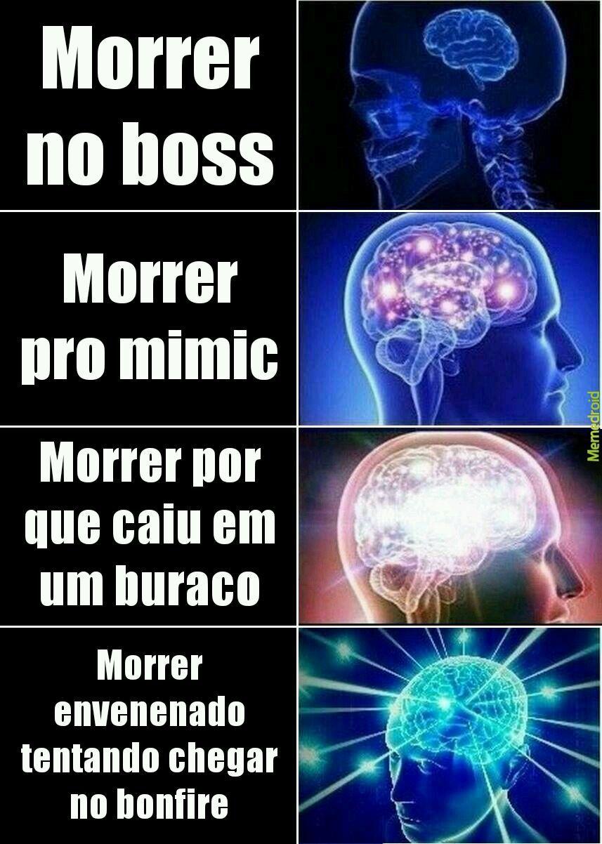 Dark souls 1 é o melhor - meme