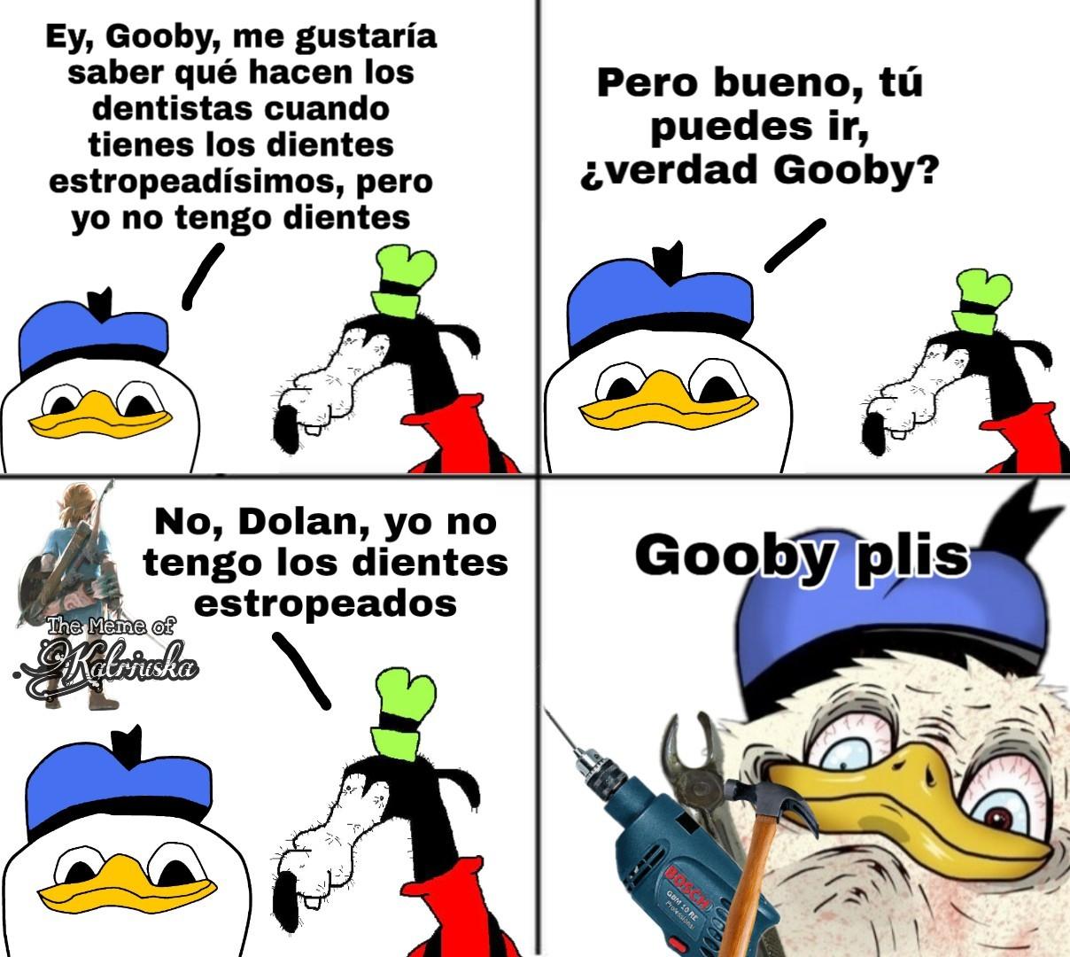 Gooby plis - meme