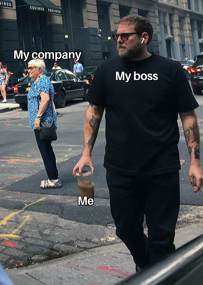 Work sucks - meme