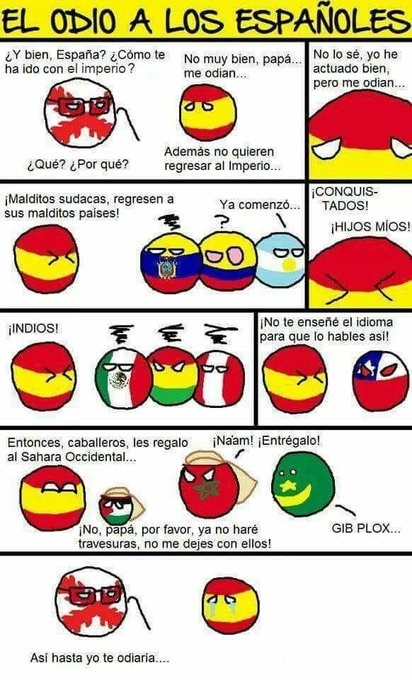 Abajo España - meme
