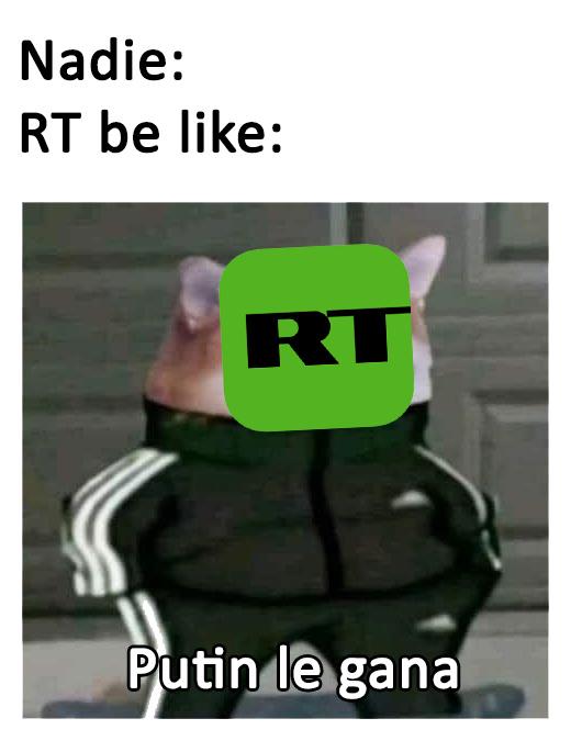 Putin le gana - meme