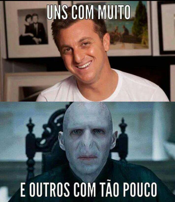 Pobre Voldemort - meme