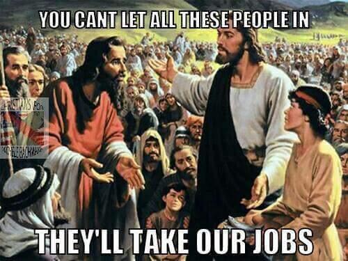 well Jesus said it its law now - meme