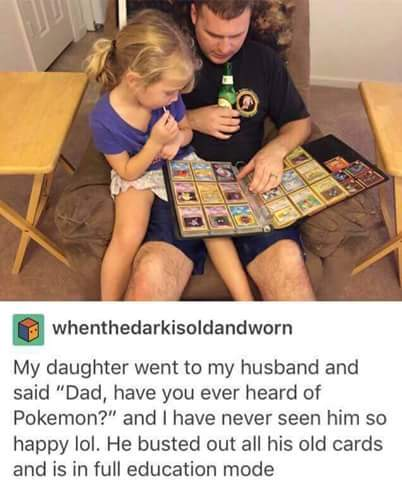 Teaching pokémon. - meme