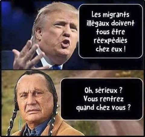 Gros problèmes d'immigrés aux US ! Vraiment! - meme