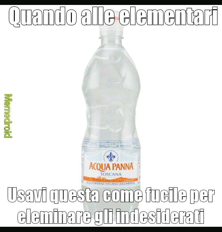 Getti d' acqua - meme