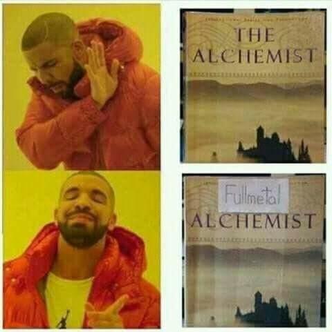 Fullmetal Alchemist - meme
