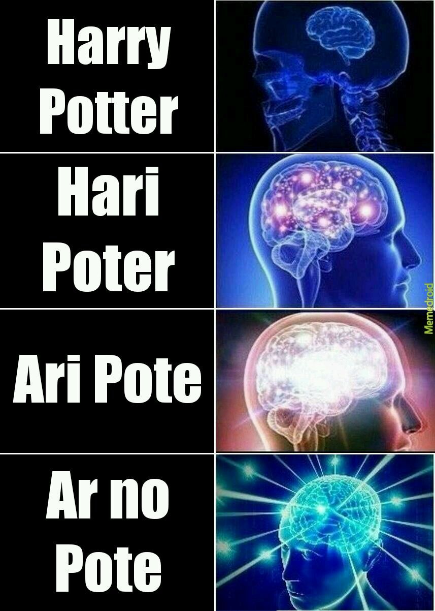 Vingardium leve rosca - meme
