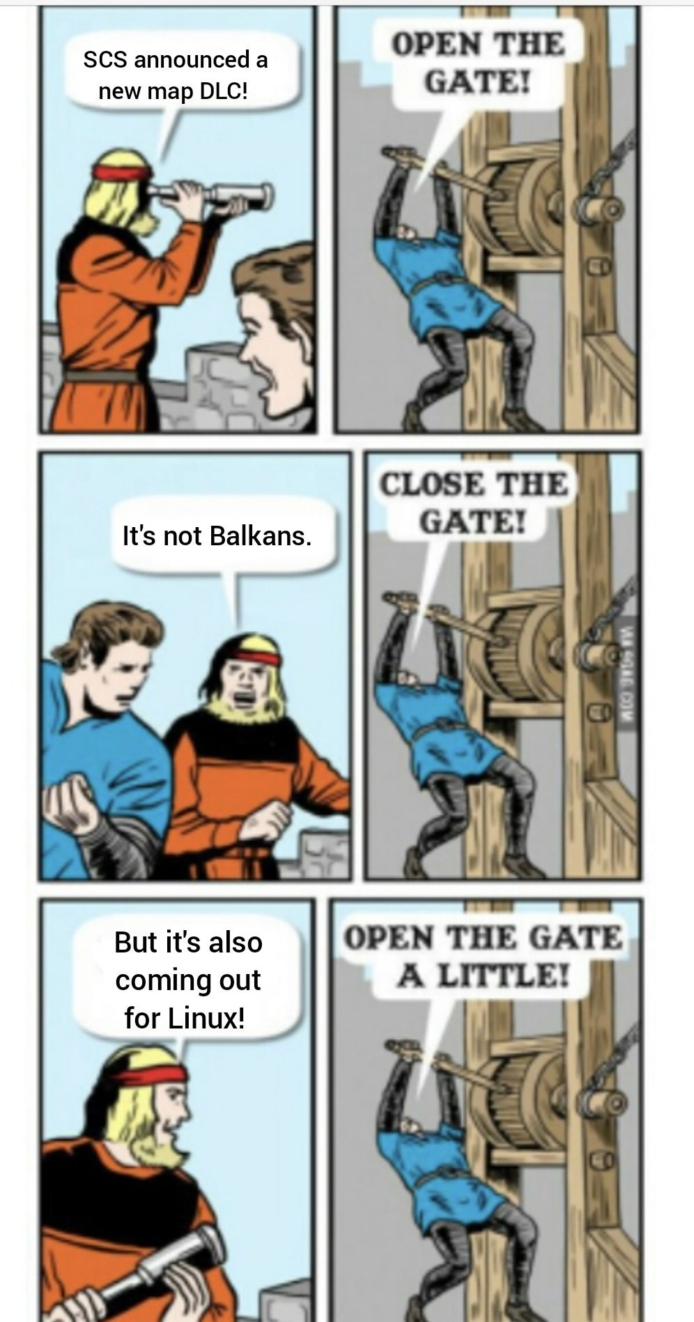 Linux gamers rejoice! - meme