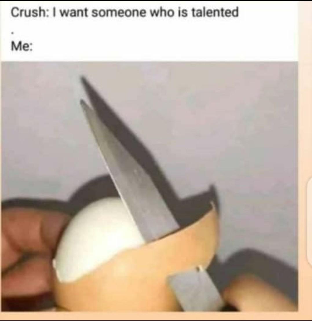 Pure talent - meme