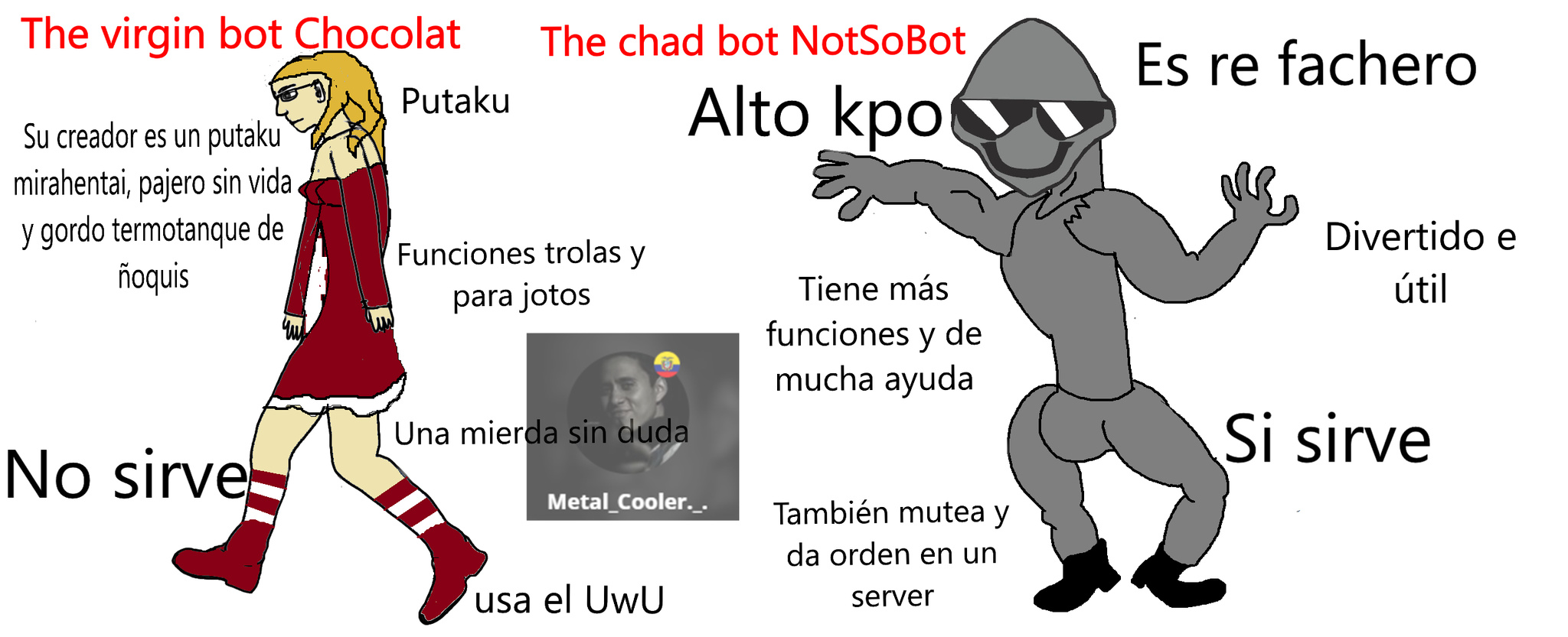Servers de Discord - meme
