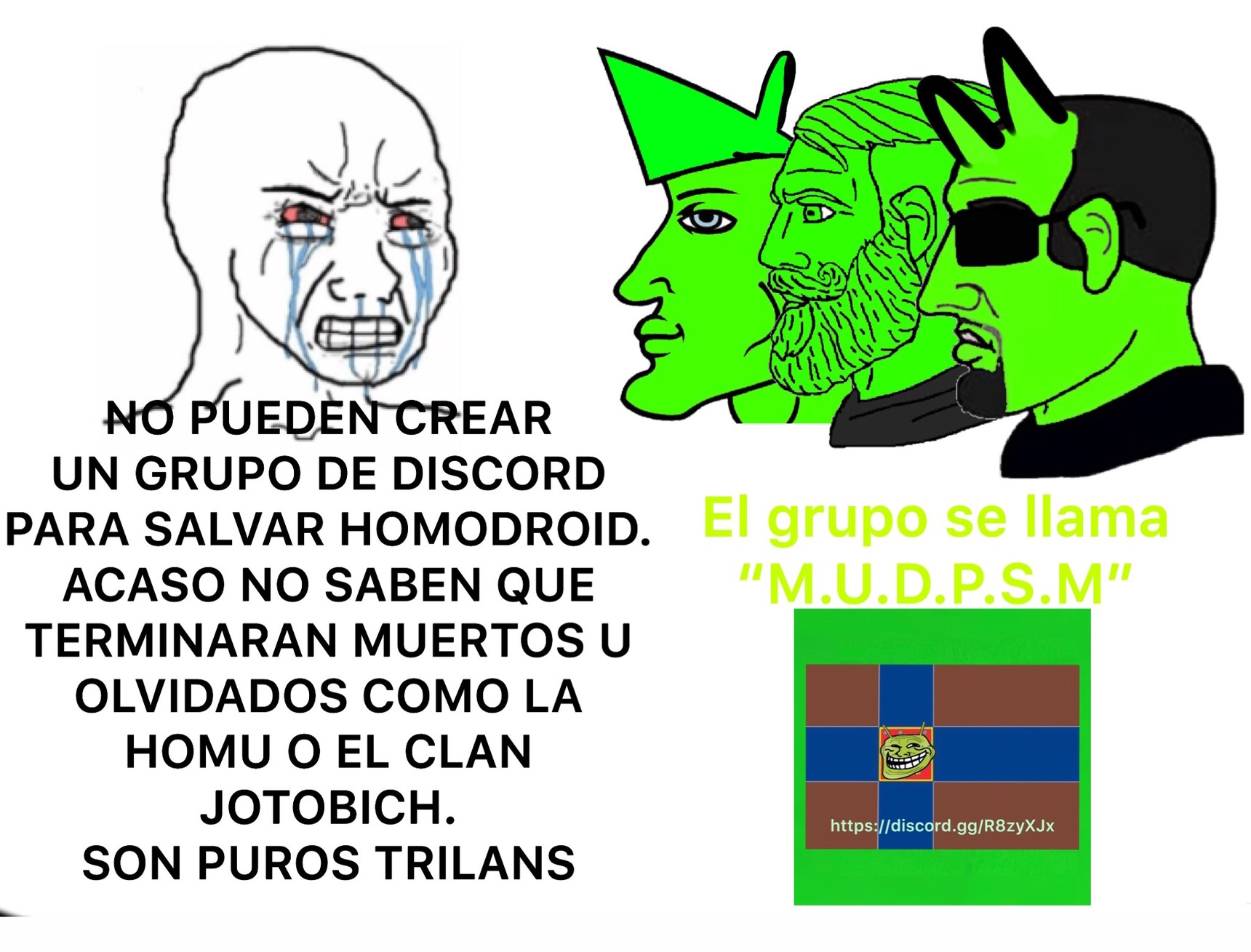 """PurOs TrIlans"" - meme"