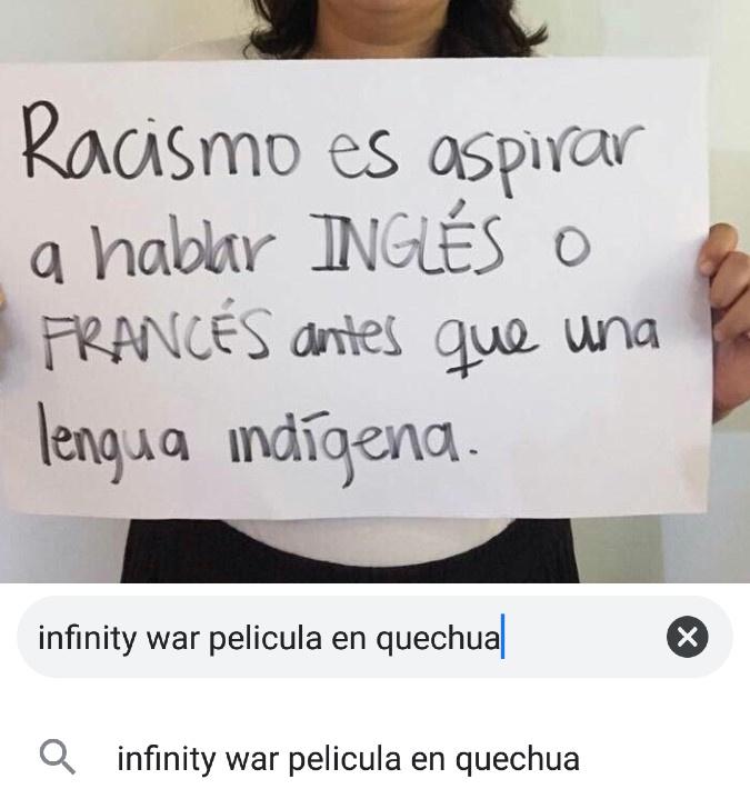 Quechua - meme