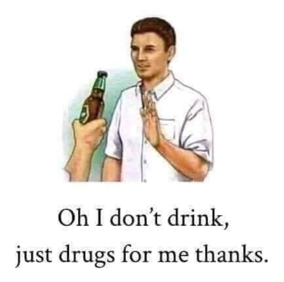 1 drugs please - meme