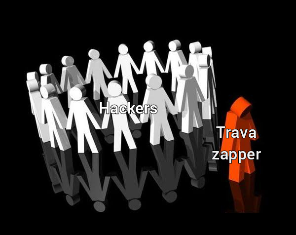 Trava zapper não é hacker. Change my mind - meme
