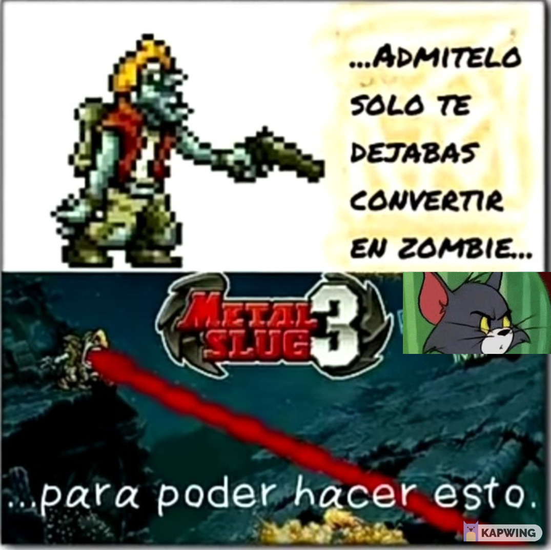 metal slug 3 - meme