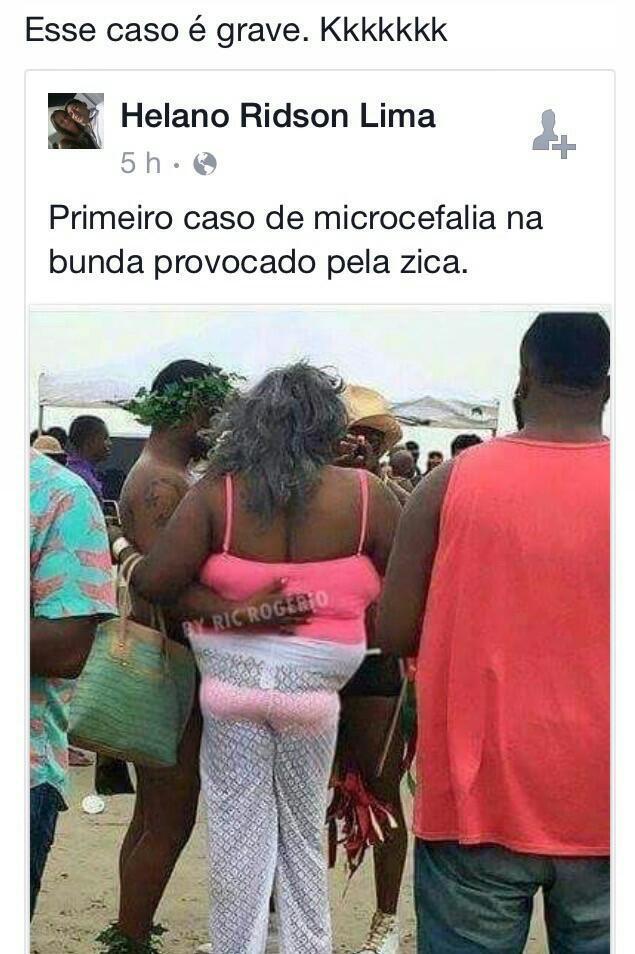 Cuidado com o zika virus - meme
