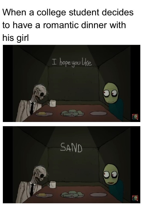 good ol salad fingers - meme