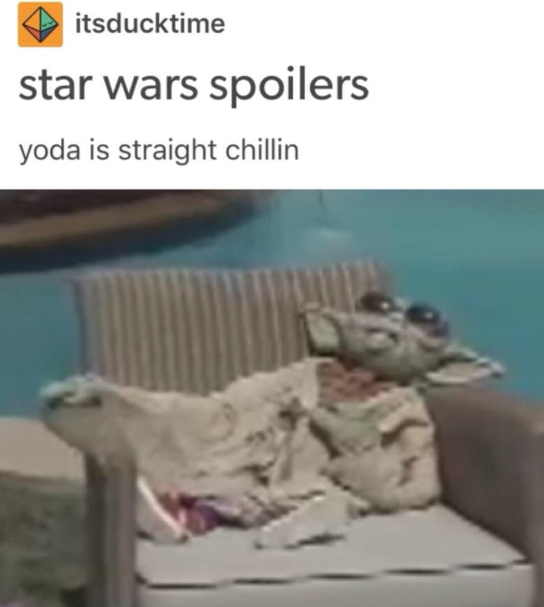 Straight chillin - meme