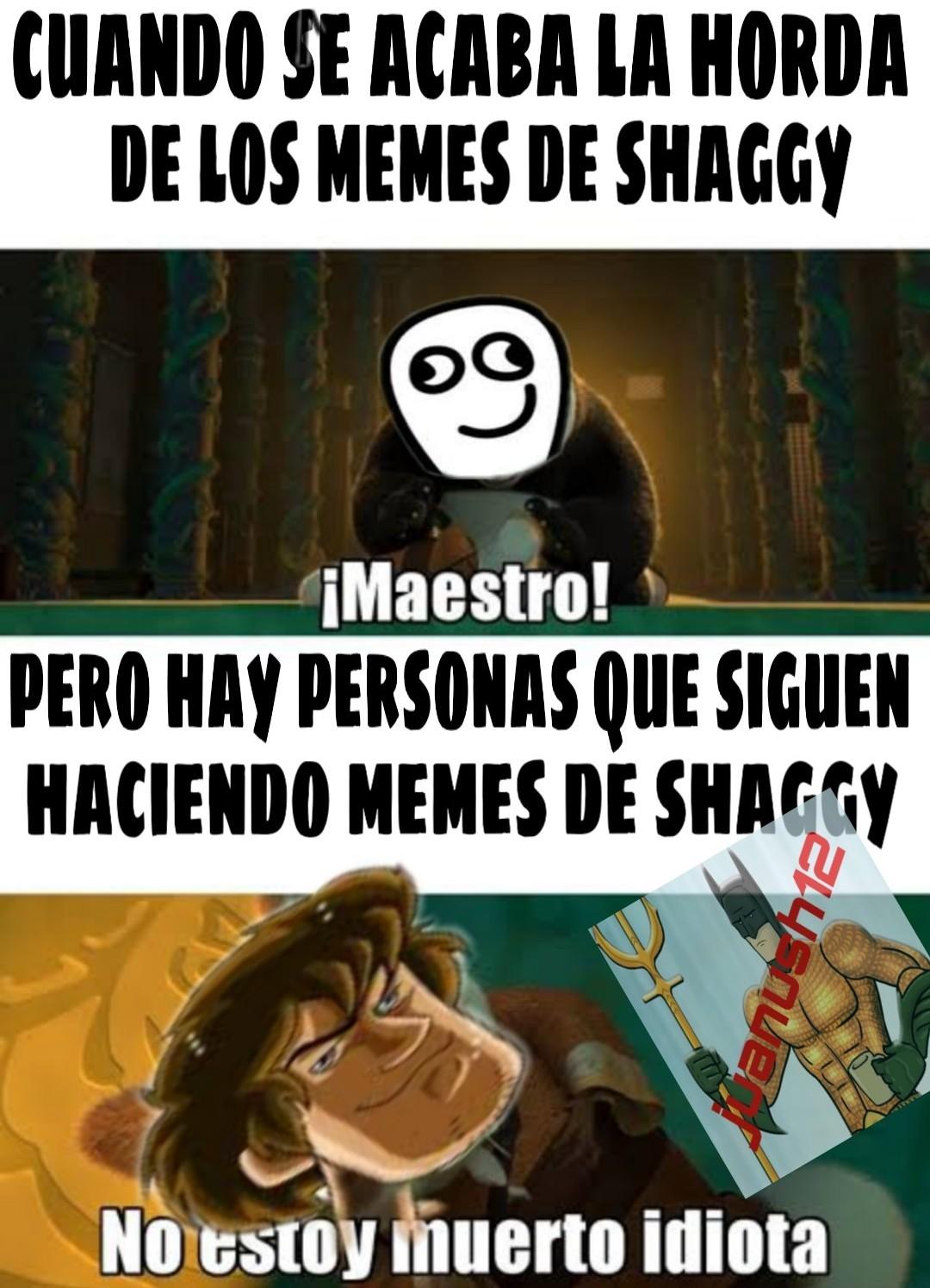 El titulo se suicido por los memes de shaggy