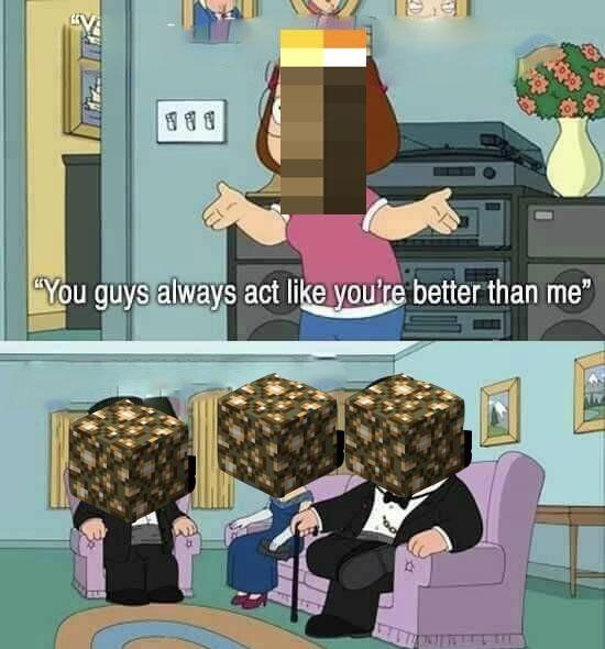 Oof Minecraft - meme