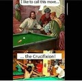 The Crucifixion move