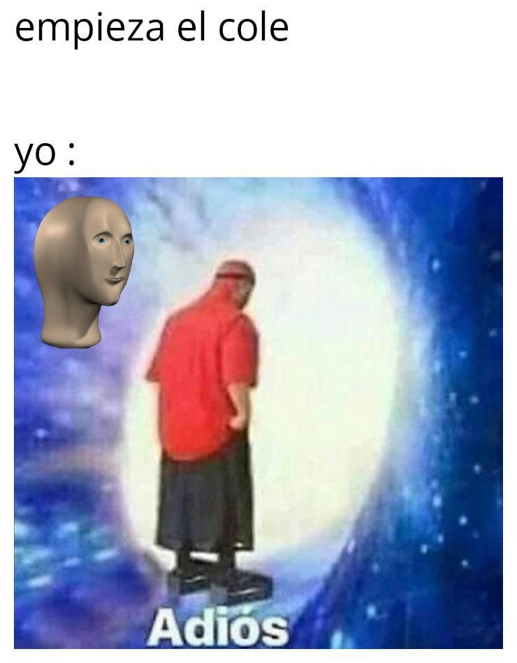 El cole - meme