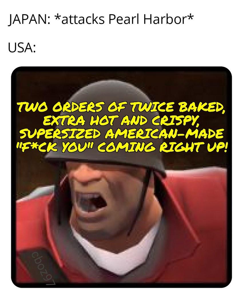 Extra hot and crispy - meme