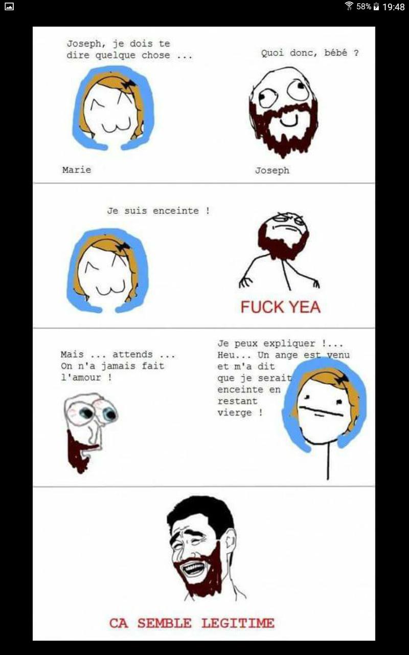 Et jésus est né... - meme
