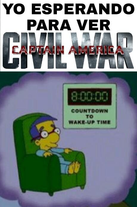 Civil War - meme