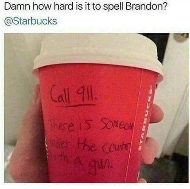 Stupid Starbucks - meme