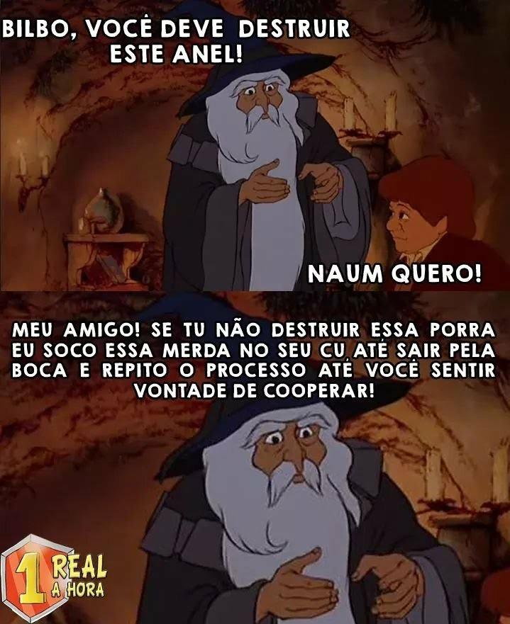 Gandalf tranquilão! - meme