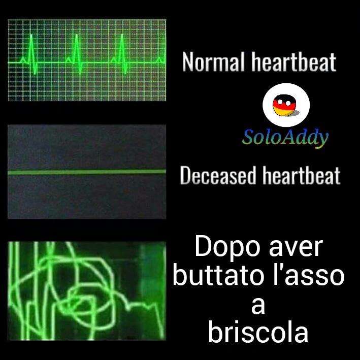 Scorrere giù, Heartbeat 1 - meme