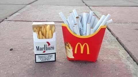 Ya pas que les fumeurs qui ont les dents jaunes - meme