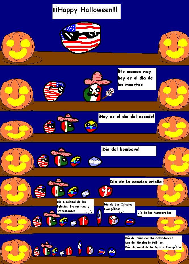 El lio del 31 de octubre - meme