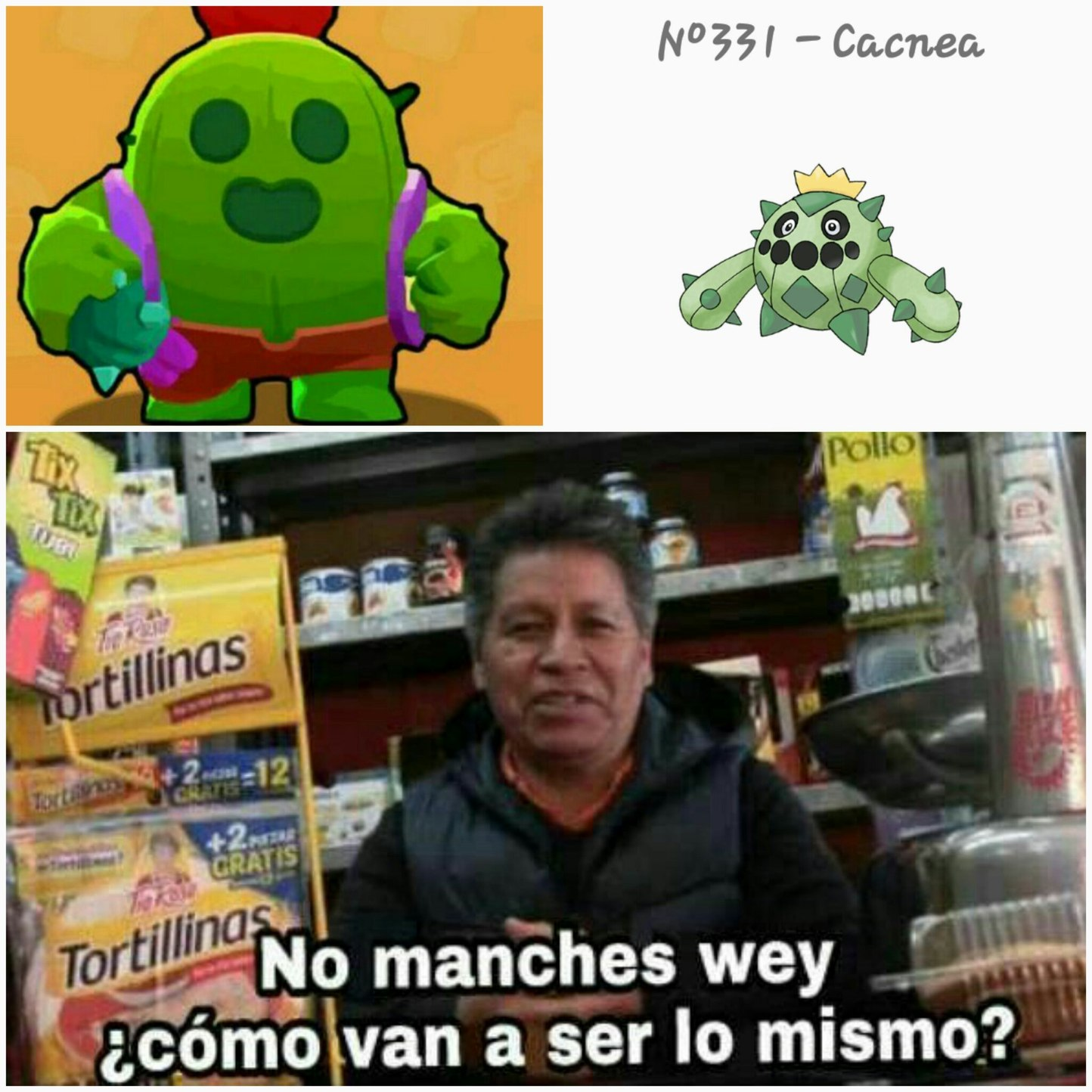 Con razon spike me era familiar - meme