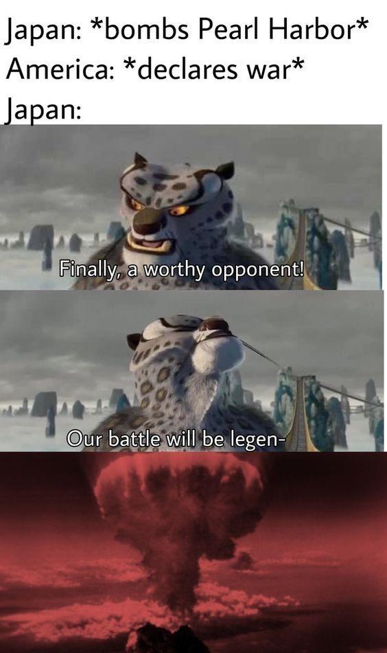 our battle will be legenda- - meme