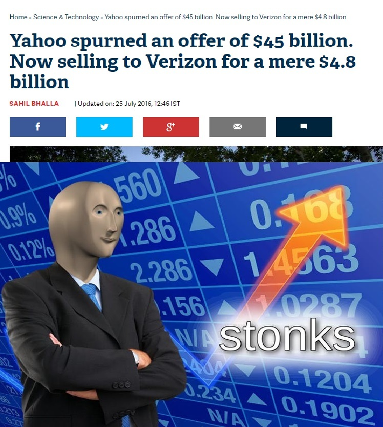 YAHOO!!! WE ARE STONKS!!! - meme