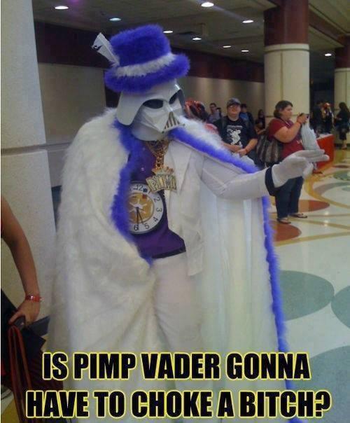 Pimp Vader - meme